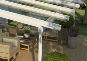 Weinor Terrazza Plus Guttering