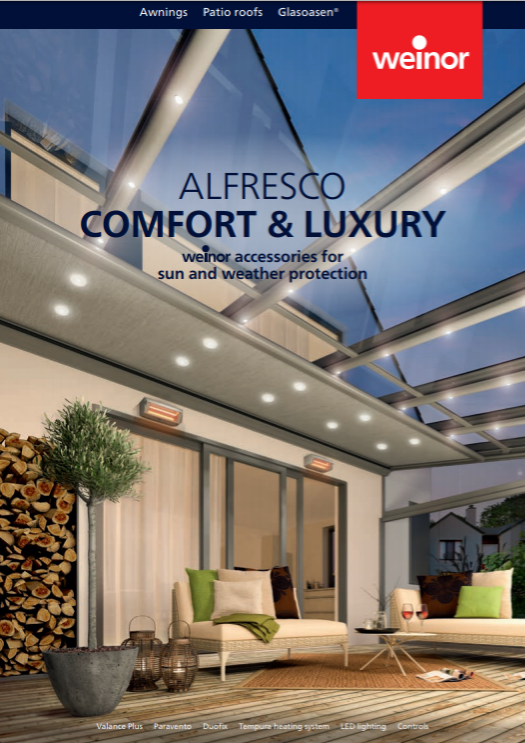 Weinor Al Fresco Living Brochure