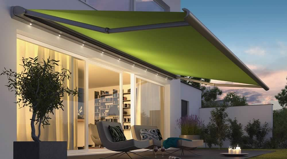 Weinor Cassita II Awning LED Lighting