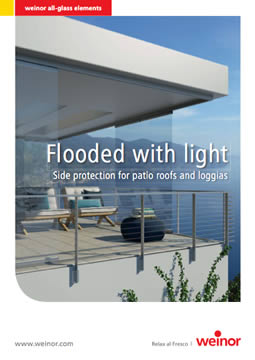 Weinor Flooded With Light Brochure Cover