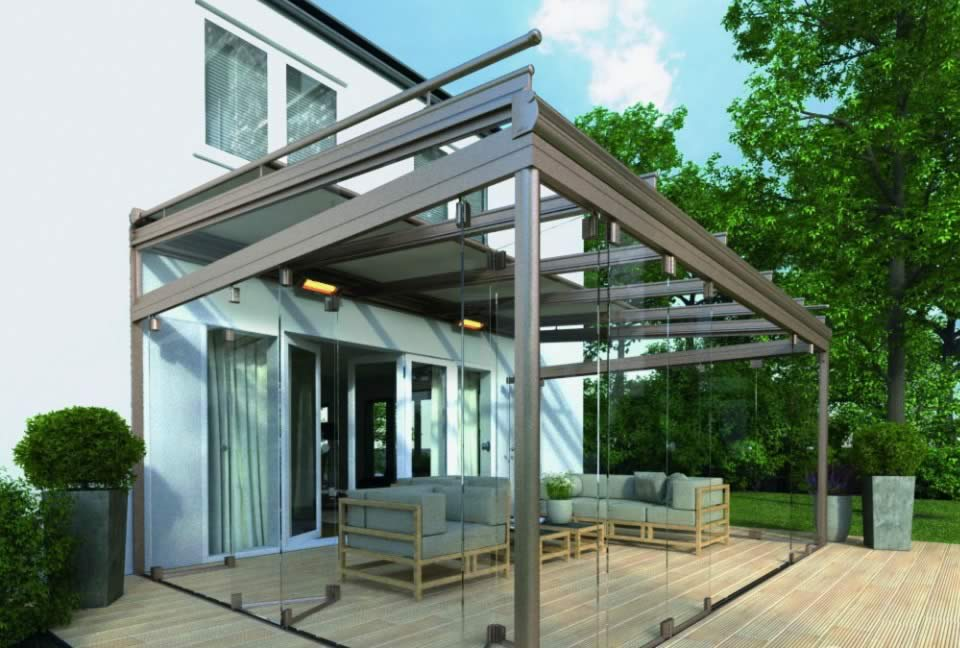 Weinor Glasoase Glass Extensions Roch 233 Awnings