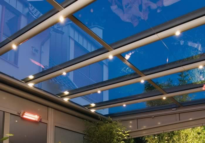 Weinor Glasoase Lighting Bars