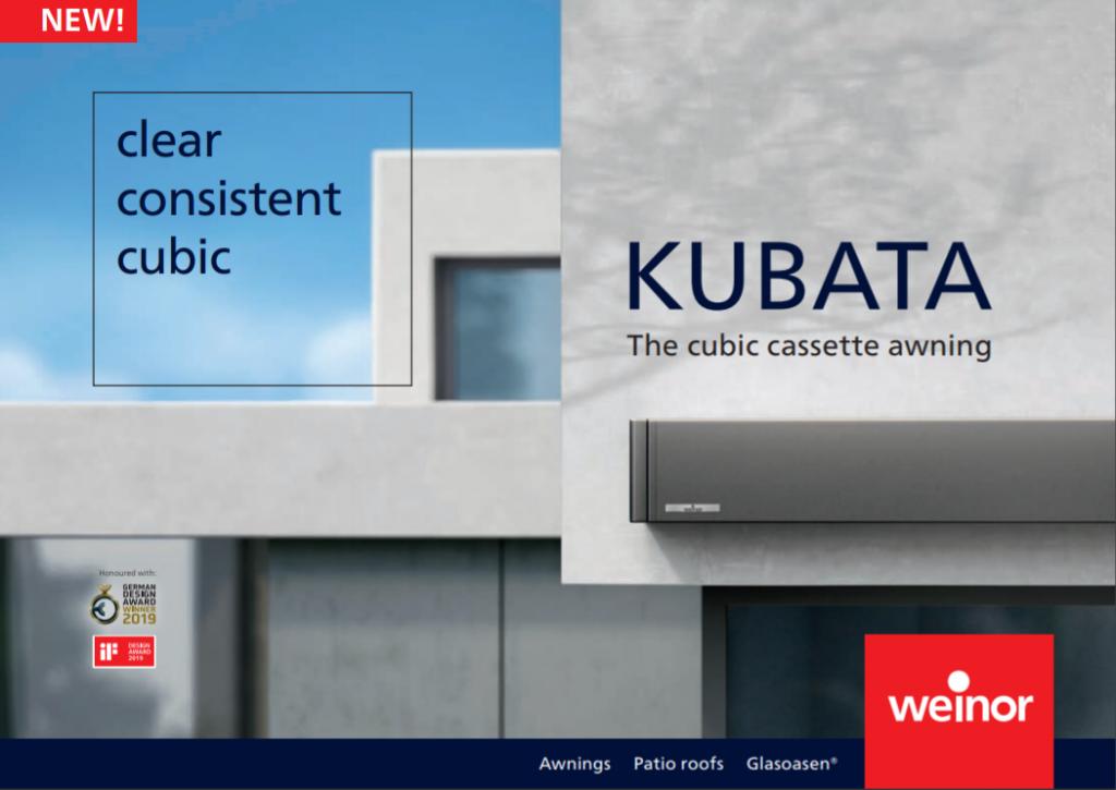 Weinor Kubata Brochure Cover