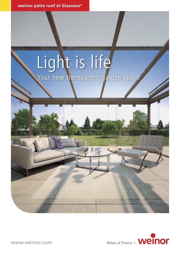 Weinor Light is Life Brochure Cover