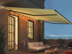Weinor Livona LED awning roof terrace