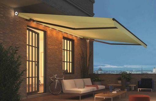 Weinor Livona LED awning roof terrace