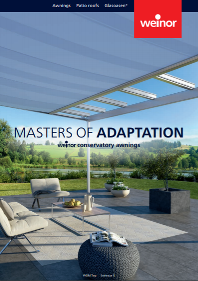 Weinor Master Of Adaptation Brochure