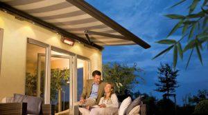Weinor Opal Design II Awning with Heater