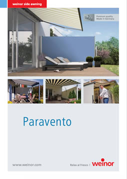Weinor Paravento Brochure Cover
