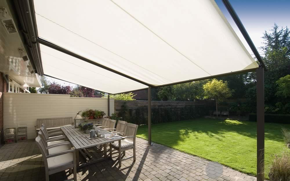 Weinor Plaza Home | Fabric Roof Awnings | Roché Awnings