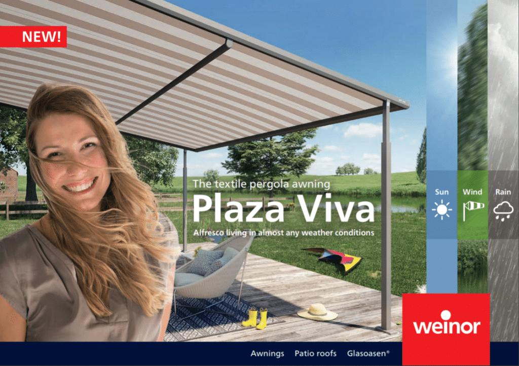 Weinor Plaza Viva Cover