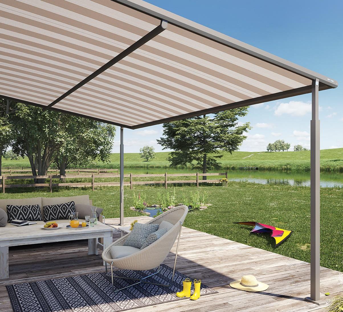 Weinor Plaza Viva | Fabric Roof Awnings | Roché Awnings