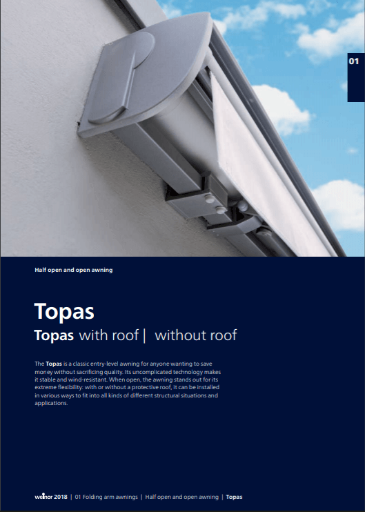 Weinor Topas Manual Cover
