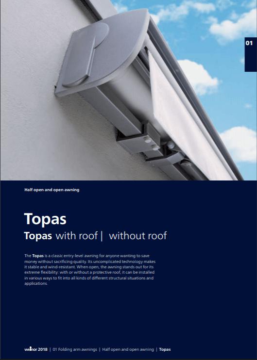 Weinor Topas Manual Cover