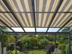 Weinor WGM Conservatory Awning Shade Striped