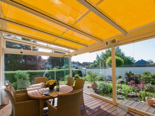 Weinor WGM Conservatory Awning Yellow