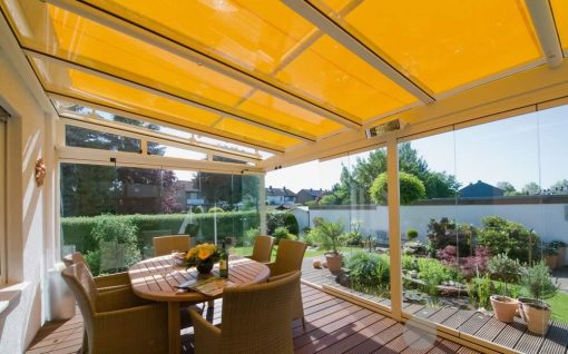 Weinor WGM Conservatory Awning Yellow