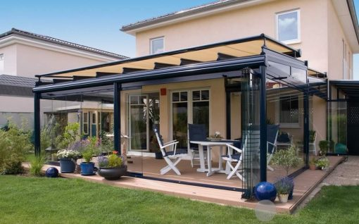 Weinor WGM Awning on Glass Room
