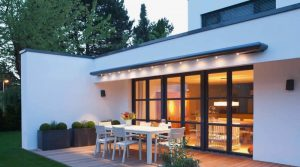 Weinor Zenara Awning with Lighting - Retracted