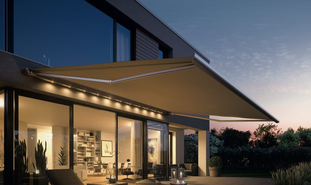 Weinor Zenara Patio Awning with Lighting